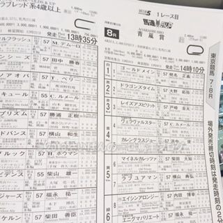 [観戦] 第83回日本ダービーの東京競馬場 11