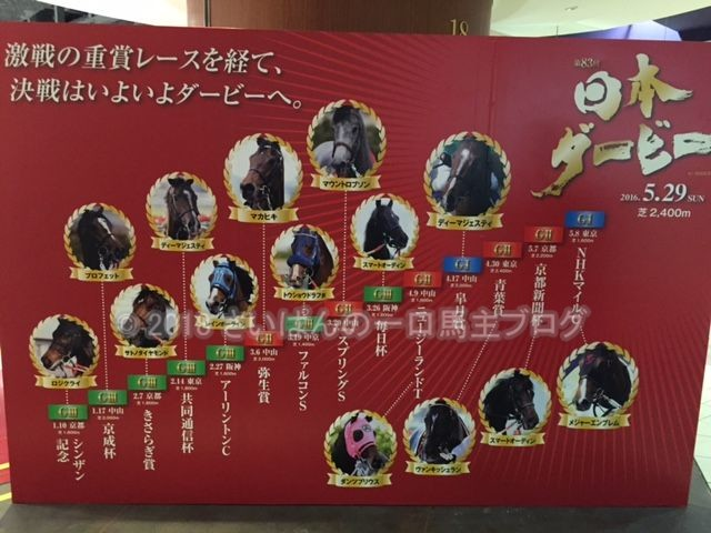[観戦] 第83回日本ダービーの東京競馬場 2