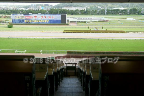 [競馬観戦] オークス前日の東京競馬場の風景 5